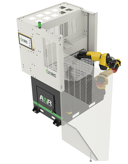 Automate lathe machine tending with the rotary cell system.