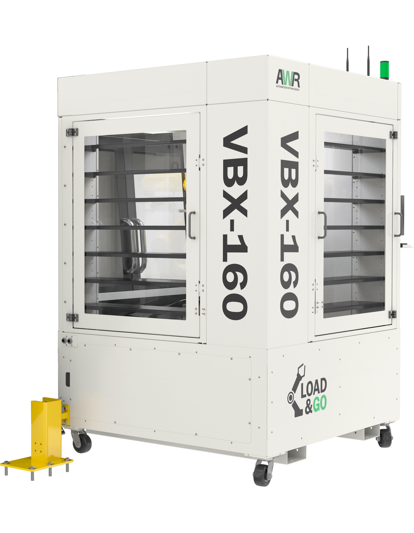 Automate mill machine tending with the VBX system.